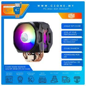 Cooler Master MasterAir MA610P ARGB CPU Air Cooler (AMD, Intel, 2x 120mm Fan, ARGB)