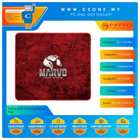 Marvo G39 Gaming Mouse Pad (Soft, Large, 450 x 400 x 3 mm)