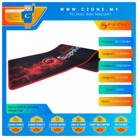 Marvo G43 XL Gaming Mouse Pad (Soft, Extended, 770 x 295 x 3 mm)