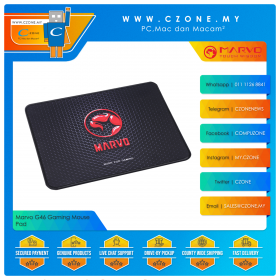 Marvo G46 Gaming Mouse Pad (Soft, S, 300 x 230 x 3 mm)