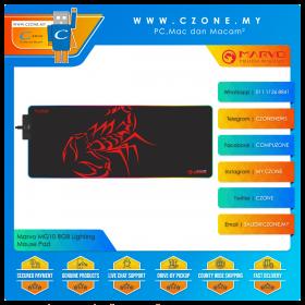 Marvo MG10 RGB Lighting Mouse Pad (Soft, Extended, 800 x 310 x 4 mm)