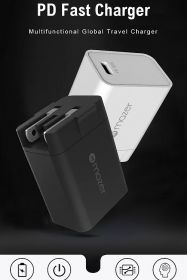 Mazer EnerG Travel Mini Wall Charger PD30W USB-C Charger