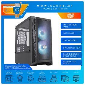 Cooler Master MasterBox MB311L ARGB Computer Case (mATX, TG, Black)