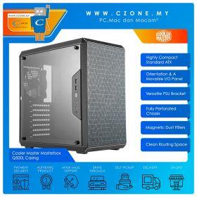Cooler Master Masterbox Q500L Casing (ATX, Black)