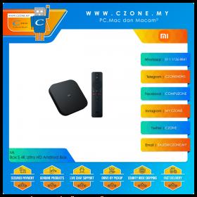 Mi Box S 4K Ultra HD Andriod Set-Top Box (2GB Ram, 8GB eMMC)