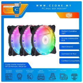 Cooler Master MasterFan MF120 Prismatic ARGB Case Fan