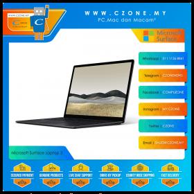 "Microsoft Surface Laptop 3 - 15"", i5-1035G7, 1.2GHz, 8GB, 256GB SSD, UHD, Win 10 Pro (Matte Black)"