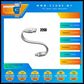 MiLi iData Cable 32GB OTG Flash Drive (Lightning, USB 3.0, White)