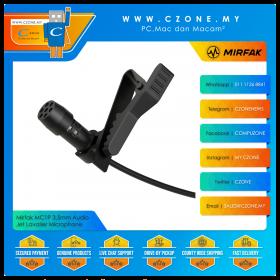 Mirfak MC1P 3.5mm Connector Lavalier Phone Microphone