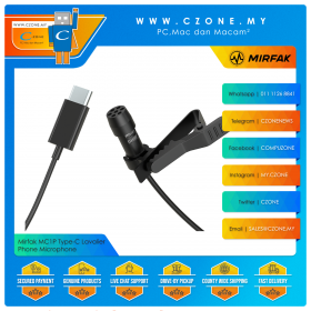 Mirfak MC1P Type-C Lavalier Phone Microphone