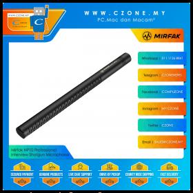 Mirfak NP10 Professional Interview Shotgun Microphone
