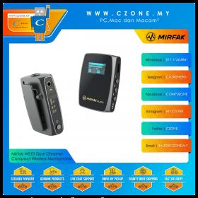 Mirfak WE10 Dual Channel Compact Wireless Microphone
