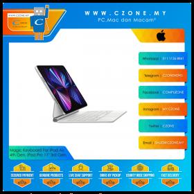 "Apple iPad Magic Keyboard For iPad Air 4th Gen, iPad Pro 11"" 3rd Gen (White)"