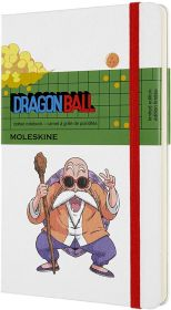 Moleskine Limited Edition Dragon Ball Large Dotted Hard Cover Notebook (Master Roshi)