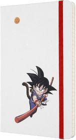 Moleskine Limited Edition Dragon Ball Large Ruled Hard Cover Notebook (Goku)