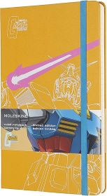 Moleskine Limited Edition Gundam Large Ruled Hard Cover Notebook (Yellow)