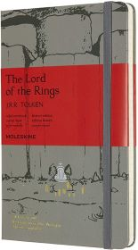 Moleskine Limited Edition Lord Of The Rings Large Ruled Hard Cover Notebook (Moria)