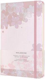 Moleskine Limited Edition Sakura Large Plain Notebook (Graphic 2)