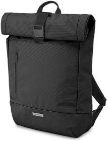 Moleskine Metro Rolltop Backpack (Black)