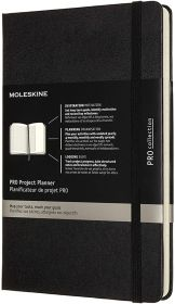 Moleskine Pro Project Planner Large Notebook