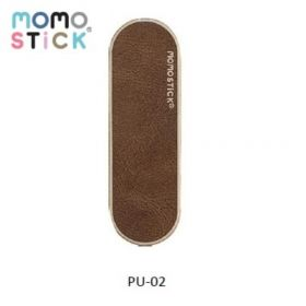 Momo Stick Pu Leather Phone Stand (Brown)