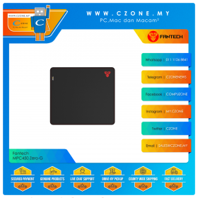 Fantech MPC450 Zero-G Cordura Gaming Mouse Pad (Soft, 450 x 400 x 3 mm)