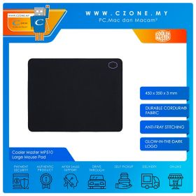 Cooler Master MP510 - Large Mouse Pad (Soft, 450 x 350 x 3 mm)