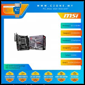 MSI B550I Gaming Edge Wifi Motherboard (Chipset B550, WiFi+BT, mini-ITX, Socket AM4)