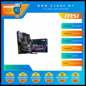 MSI MPG Z590 Gaming Carbon WiFi Motherboard (Chipset Z590, WiFi+BT, ATX, Socket 1200)