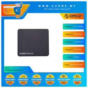 Orico MPS3025 Mouse Pad (Soft, Small, 300 x 250 x 3 mm)