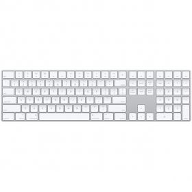 Apple Wireless Magic Keyboard With Numeric Keypad (Silver)