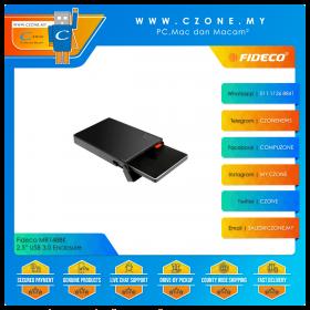 """Fideco MR148BK 2.5"""" USB 3.0 Enclosure (Black)"""