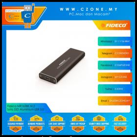 Fideco MR162BK M.2 Sata SSD Aluminium USB 3.0 Enclosure (Black)