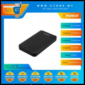 """Fideco MR171BK 2.5"""" Harddisk USB 3.0 Enclosure (Black)"""