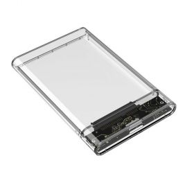 "Fideco MR178WH 2.5"" USB 3.0 Enclosure (Transparent)"