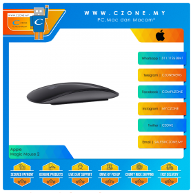 Apple Wireless Magic Mouse 2 (Space Grey)