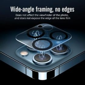 MrYes Full Covered Camera Lens Tempered Glass iPhone 12 Series