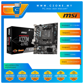 MSI A320M-A Pro Motherboard
