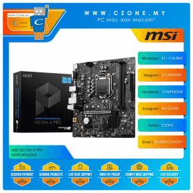 MSI H510M-A Pro Motherboard