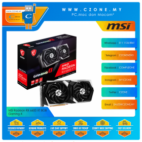 MSI Radeon RX 6600 XT 8GB Gaming X
