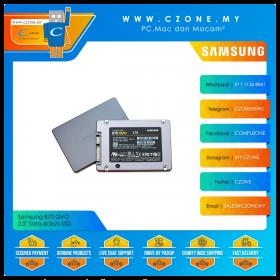 """Samsung 870 QVO 1TB 2.5"""" Sata 6Gb/s SSD (R: 560Mbps, W: 530Mbps)"""