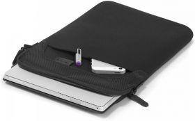 "Dicota Ultra Skin Laptop Sleeve (Fits 14""Laptop, Black)"