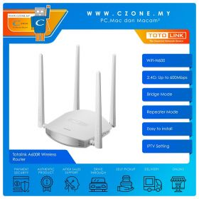 Totolink A600R Wireless Router (WiFi-N600)