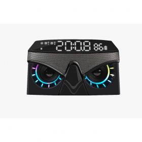 Vinnfier Neo Air 3 Bluetooth Clock Radio Speaker (Mist Black)