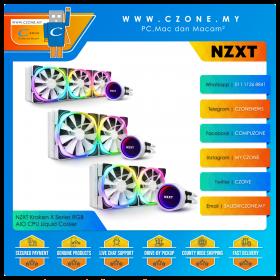 NZXT Kraken X Series RGB AIO CPU Liquid Cooler