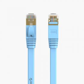 Orico Cat 6 & 7 Network Cable (Flat, Blue)
