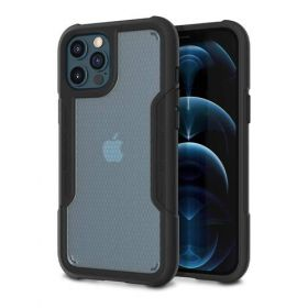 Patchworks Solid Case (iPhone 12 Pro Max, Black)