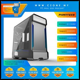 Phanteks Enthoo Evolv X Computer Case (EATX, TG, Digital RGB, Galaxy Silver)