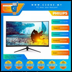 "Philips 272M8CZ Curved Gaming Monitor (27"", 1920x1080, VA, 165Hz, 1ms, HDMI x2, DP, VESA)"