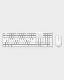 Philips SPT6314 Wireless Keyboard And Mouse (White)